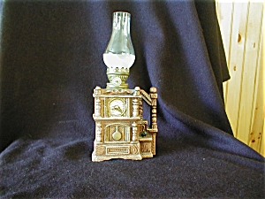 Miniature Clock Oil Lamp