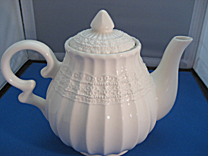 Lefton White Tea Pot (Image1)