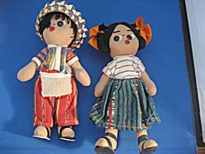 South American Souvenir Dolls (Image1)
