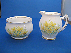 Phoenix Bone China Sugar and Creamer (Image1)