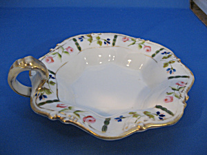 Nippon Gold Handle Candy Dish