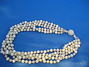 Five String Beaded Necklace (Image1)