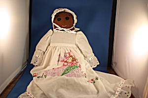 Hand Made Black Cloth Doll