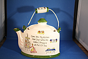 Lefton Tea Pot Wall Pocket (Image1)