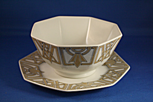 The Ritz Style Bowl And Plate