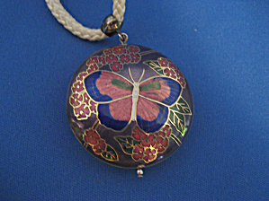 Butterfly Enamel Necklace (Image1)
