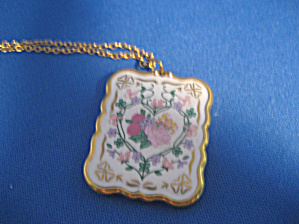 Enamel Flower Necklace (Image1)