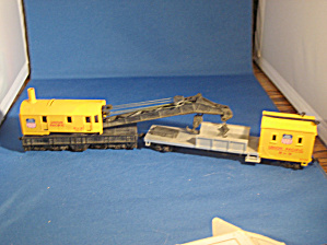 Union Pacific Crane Car and Boom (Image1)