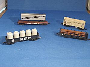 Four Miniature Train Cars (Image1)