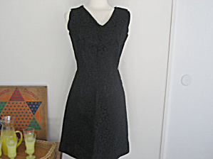 Alden's Black Lace Wriggle Dress (Image1)