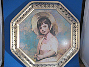 George Romney Miss Willoughby Tin Picture