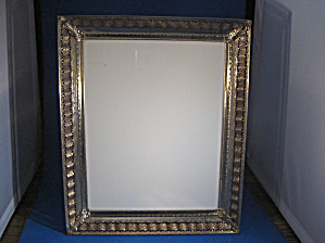 Gold Colored Metal Picture Frame