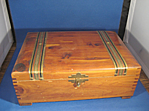 Dove Tail Wooden Box