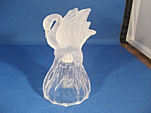 Crystal Swan Handle Bell