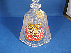 Artmark Lead Crystal Bell With Painted Tiger (Image1)