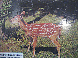 Forest Favorites Fawn Puzzle (Image1)