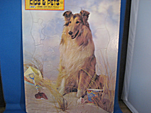 Kids and Pets Collie Puzzle (Image1)
