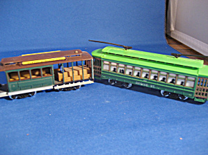 Two Classic Train Cars