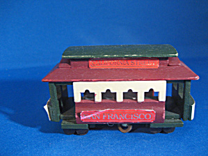 Wooden Street Car Music Box (Image1)