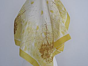 Yellow Silk Scarf (Image1)