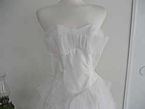 1950-1960 Hand Made Wedding Dress (Image1)