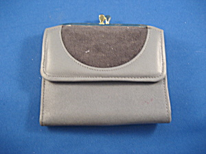 Grey Leather Amity Billfold (Image1)