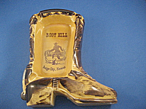 Boot Hill Souvenir Ash Tray