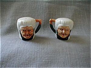 Old Lady Salt And Pepper Shakers