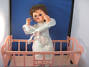 Lorrie Doll And Crib