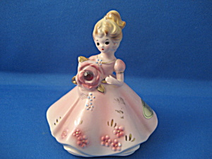 Josef Originals Janurary Birthstone Figurine (Image1)