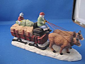 Dept. 56 Village Hay Wagon  (Image1)