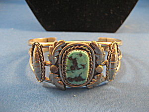 Silver and Turquoise Bracelet (Image1)