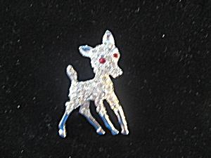 Rhinestone Deer Pin (Image1)