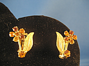 Flower Earrings Made in Austria (Image1)