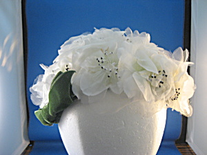 Flower and Green Bow Hat (Image1)