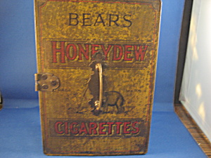 Very Old Bear's Honeydew Cigarettes Tin
