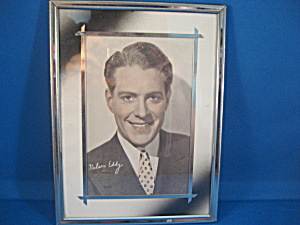 Nelson Eddy Picture And Silver Frame