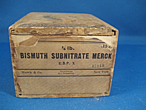 Old Medicine Wooden Box