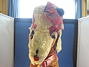 1940 Carnival Stuffed Scottish Dog (Image1)
