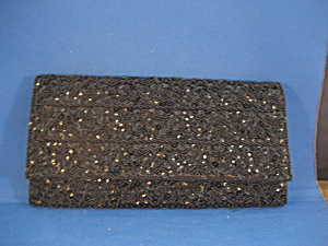 Black Beaded Purse (Image1)