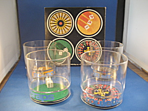 Four Casino Glasses (Image1)