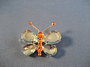 Rhinestone Butterfly Brooch (Image1)