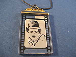 Charlie Chaplin Necklace