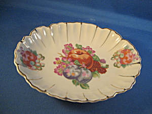 Candy Dish With A Fruit Design