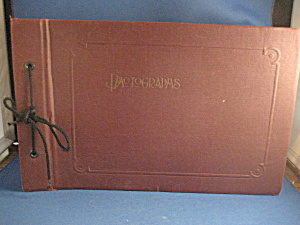 Burgundy Leather Album (Image1)