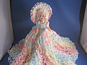 Home Made Crocheted Doll Dress  (Image1)