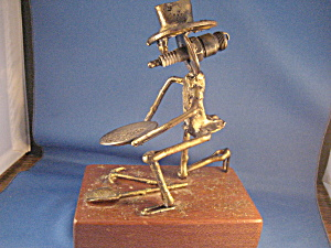 Dick Cooley Style Prospector Statue (Image1)