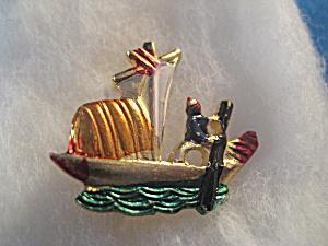 Oriental Boat Pin (Image1)