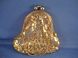 Gold Sequin Purse (Image1)