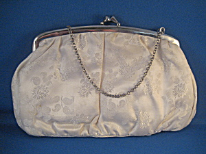 Brocade Antique White Purse (Image1)